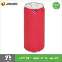 Red Coke Can Shape Touchlee Metal Dustbin with 11.1 Gallon or 42L