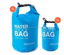 2016 outdoor pvc small swimming tarpaulin 100l Bag 20l 30l dry bag
