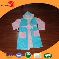 Super Absorbent Microfiber children 100% cotton kids bathrobe