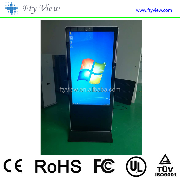 55 inch magic mirror motion sensor lcd advertising tvs,Windwos full 1080p media player