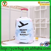 Non woven plastic luggage wheel cover unisex protective cover