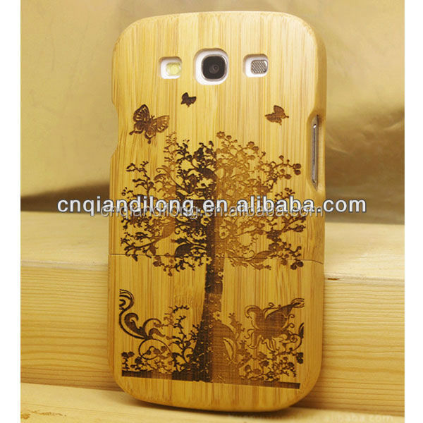 Bamboo phone case for Samsung Galaxy S3 ,Cell phone case for Samsung i9300