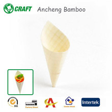 Christmas Decoration Supplies 80*60mm Mini Wooden Cones