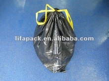 LDPE colored drawstring trash garbage bag
