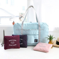 Custom reusable shopping tote bag nylon reusable foldable shopping bag