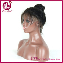 130 High Density Human Hair Wigs wet and wavy brazilian raw hair Lace Front Wigs Body Wave Full Lace Wig with Baby Hair