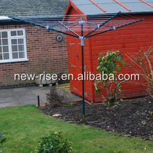 50M 4 Aarm Garden Outdoor Washing Line Rotary Dryer Airer