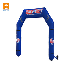 Sports event inflatable race arch, sports dead line inflatable arch
