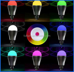 2016 china shenzhen smart home decoraive wifi bulb a family of wifi enabled e27 led bulb 9w