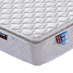 Wholesale Compressed Fire Resistant Hotel Mattress with Pillow Top