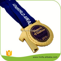 Hot Selling Wholesale Zinc Alloy Material Sport Medal