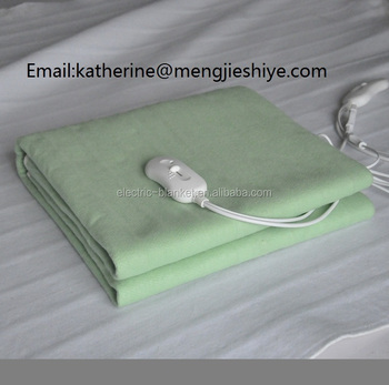 Super Soft Electric Bed Warmer Blanket