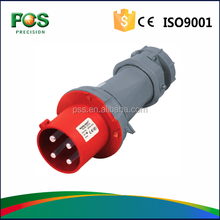 2015 Newly Developed TYPE P-III IP44 63A Fireproof Industrial Plug