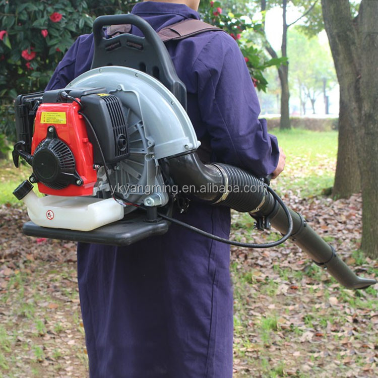 china powertful 4-stroke gas powered leaf vacuum leaf blower