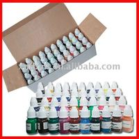 Great quality Trooper Tattoo Inks /pigment 40colors/box