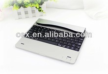 For Apple iPad 2 3 4 New Arrival High Quality Bluetooth Aluminum Keyboard Ultra thin
