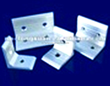 aluminium screwed extruded section/part