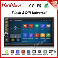 Kirinavi WC-2U7401 android 5.1 7 inch touch screen car pc universal navigation with gps car multimedia player wifi 3g bluetooth