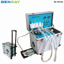BR-PDC08 cheap portable mobile dental unit with air compressor factory