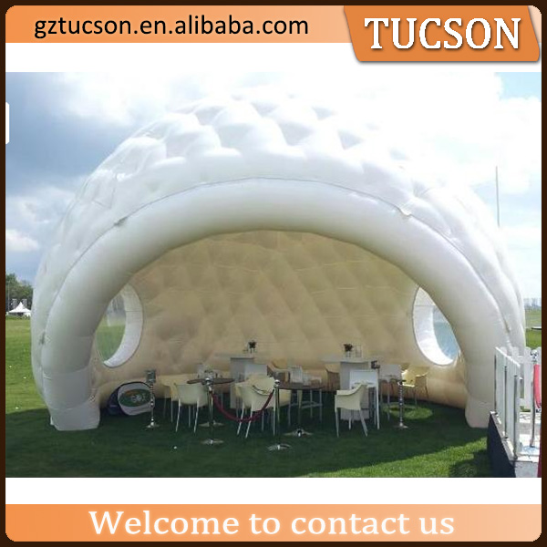 Popular giant inflatable party dome bubble lawn tent for sale