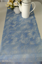 decorative nonwoven fabric navy blue table runner or placemat