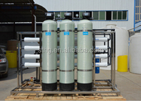 2000L per hour mineral water plant machinery cost/ro plant price in india/drinking water plant
