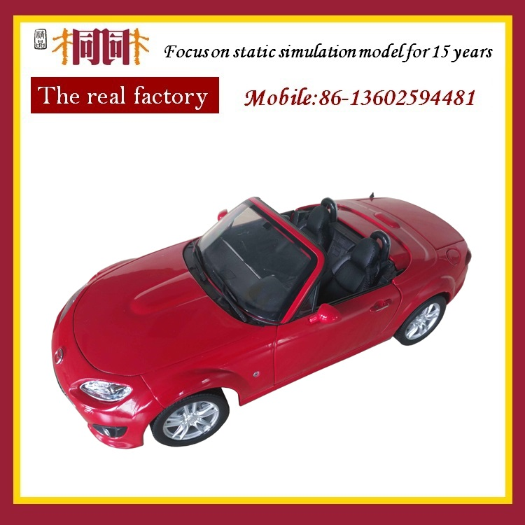 1 18 diecast car model convertible on stock
