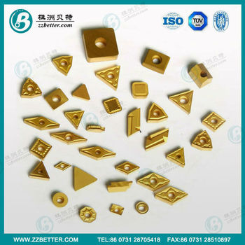 high quality carbide turning inserts/milling inserts
