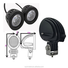 Mini Trail Lights LED Cre-e Spot / flood Motorcycle Off road Sport driving Led Fog light For Motorcycle Bike Jee-p car