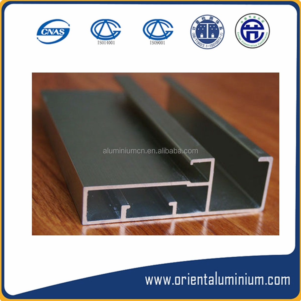 6063 alloy extruded profile aluminium kitchen cabinet