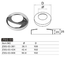 stainless steel hardware/decorative cover/pipe fittings