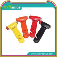 auto emergency hammer/safety hammer ,H0T066 car emergency safety hammer , window breaker car tool