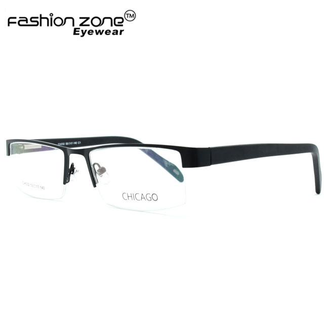 Acetate Half rimless men eyeglass frame wholesale