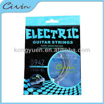Civin electric guitar strings,7 string electric guitar