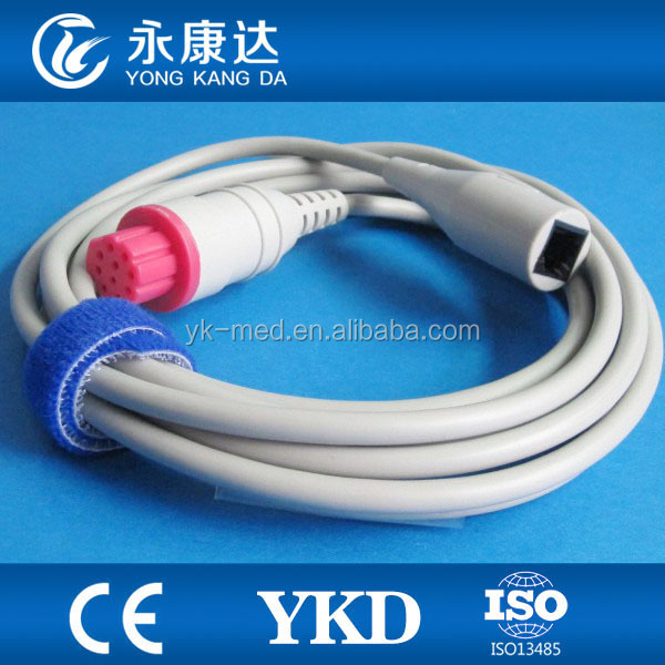 Datex 10pin abbott transducer adpter IBP cable