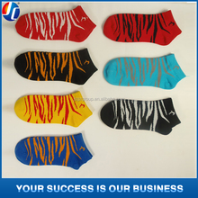 gift socks colorful animal print stock socks weekly socks