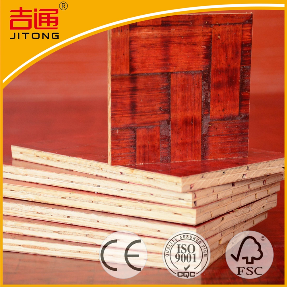 Indonesian Gurjan Bamboo Plywood Construction Plywood