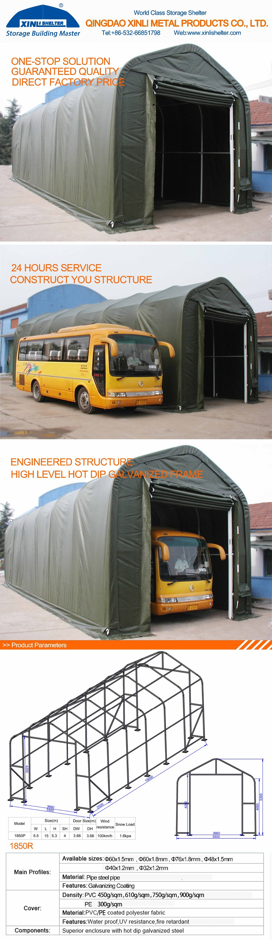Car Roof Sheet Metal For Garage : Metal roof portable garage buy car
