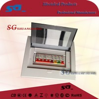 TSM 2 4 6 8 12 -36P way metal circuit breaker box plastic cover metal box Power Distribution Equipment