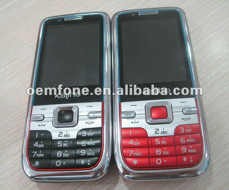 New model of mobile phone with loud sound and big battery K889