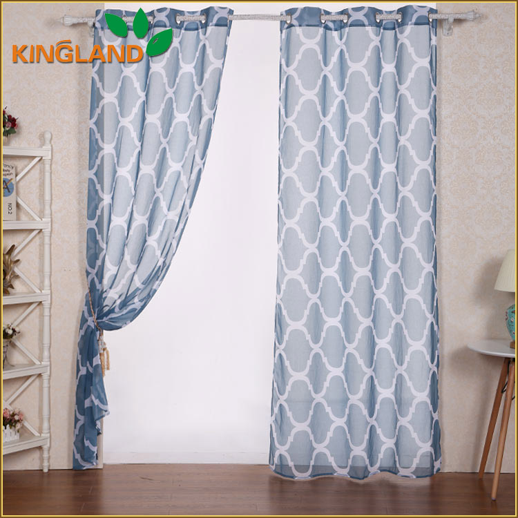 Made in China Beautiful Design Decorative printed mexican style curtains