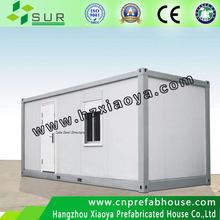 Promotion Price!!! sandwich panel 20ft wood cladding container homes manufacturer