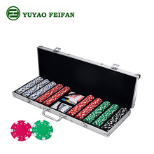novelty poker chips set 500 pcs,game poker chips set