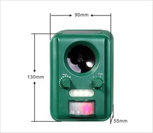 Aosion Ultrasonic Outdoor Animal& Cat Repeller with Motion Sensor STOPS Pest Animals Destroying Your Gardens& Yard