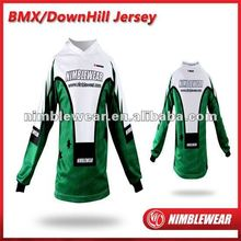 2012 Latest Elite Digital sublimated sportwear BMX Jersey /Down Hill Jersery