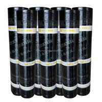 SBS/APP plastomer / elastomer modified bitumen waterproofing membrane