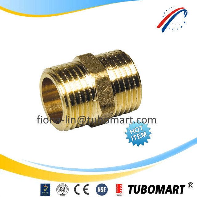DZR brass fittings general screw fittings and pipe compression fitting