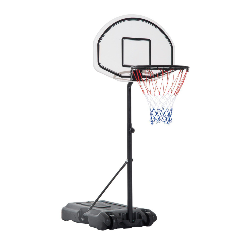 Portable Basketball Stand, Height Adjustable Outdoor Basketball Hoop