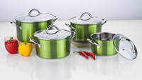 Stainless Steel Cookware set 16/18/20/24cm