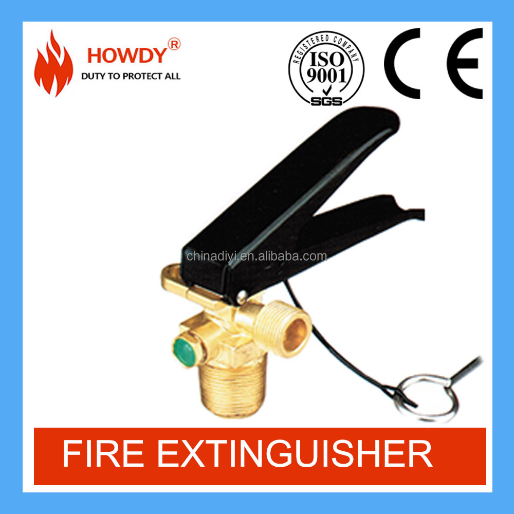 Well sale carbon dioxide gas valve for fire extinguisher
